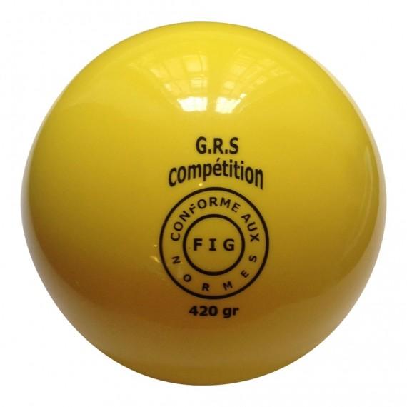 Palla colorata da ginnastica ritmica