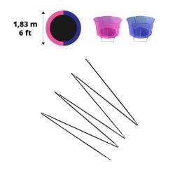 Archi in fibra di vetro per Hip/Hop Ø 183