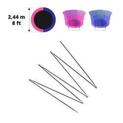 Archi in fibra di vetro per Hip/Hop Ø 244