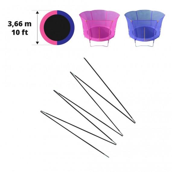 Archi in fibra di vetro per Hip/Hop Ø 366