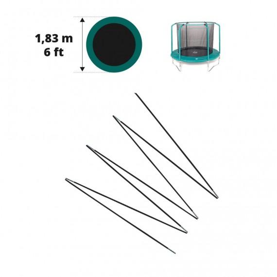 Arc en fibre de verre pour filet Oxygen Ø 183