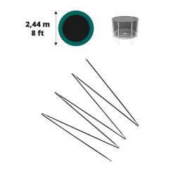 Archi in fibra di vetro per Jump'Up Ø 244