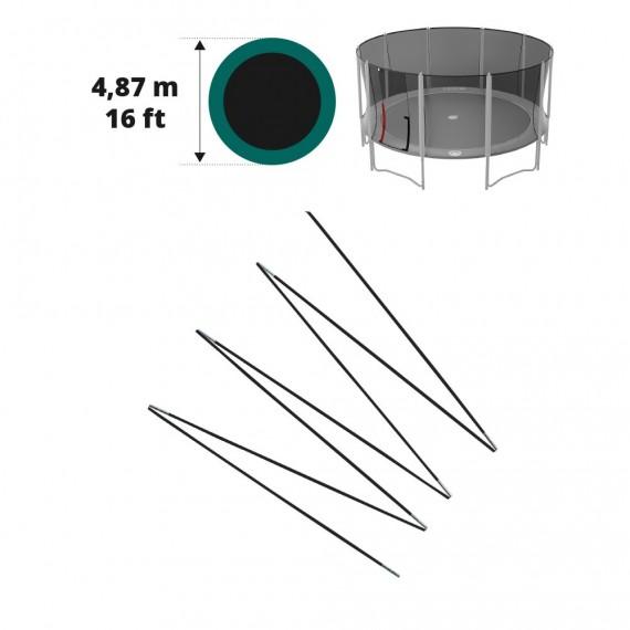 Archi in fibra di vetro per Booster Ø 487