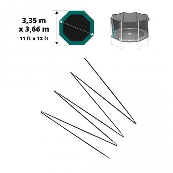 Archi in fibra di vetro per Waouuh 360