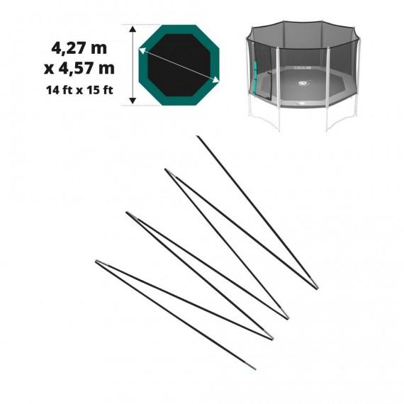 Archi in fibra di vetro per Waouuh 460