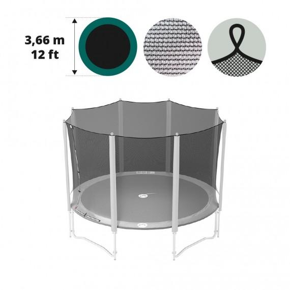 Rete tessile per trampolino Ø 366 con cinghie