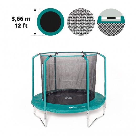 Rete tessile per tappeto elastico Oxygen 360 - P14