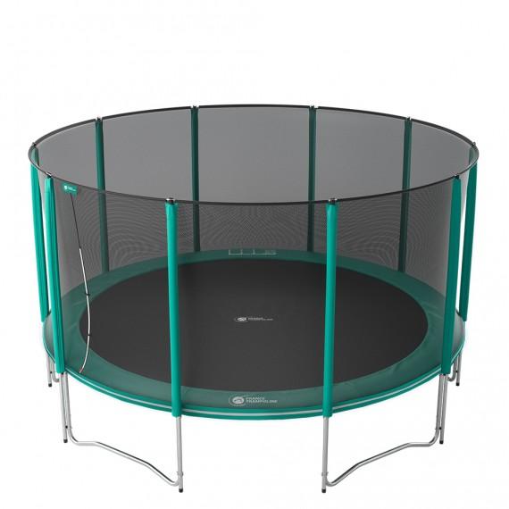 Tappeto elastico Jump'Up 460 con rete di protezione