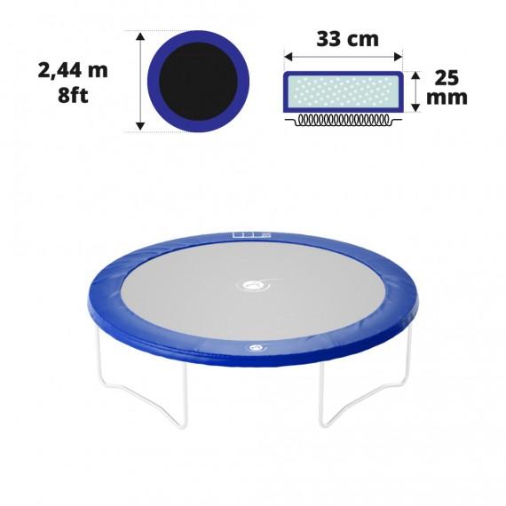 Cuscino di protezione blu Ø 244