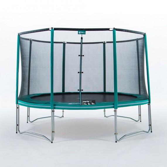 Tappeto elastico Jump'Up 390 con rete di protezione