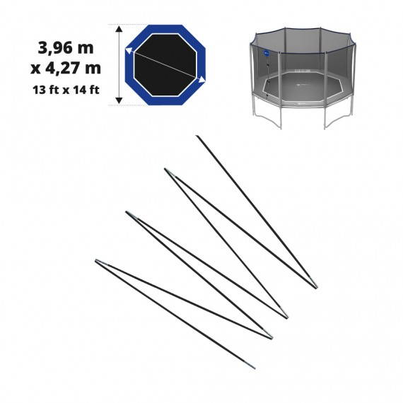 Juego de arcos de fibra de vidrio para Octopulse 360 - red de Ø12 mm