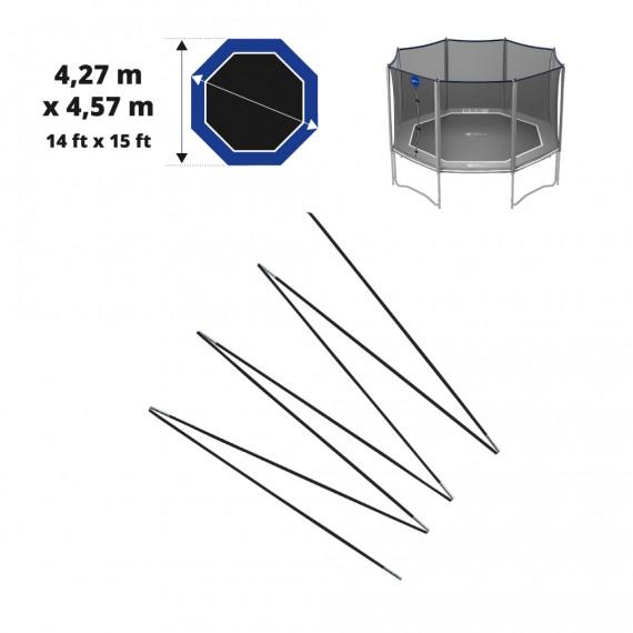 Set di archetti in fibra di vetro per Octopulse 460 - Ø12mm netto