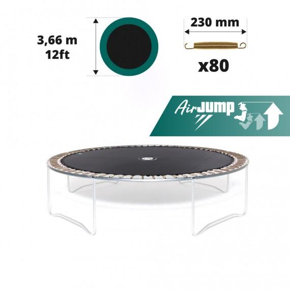 Telo salto tappeto elastico Ø 366 - 80 molle 230 mm