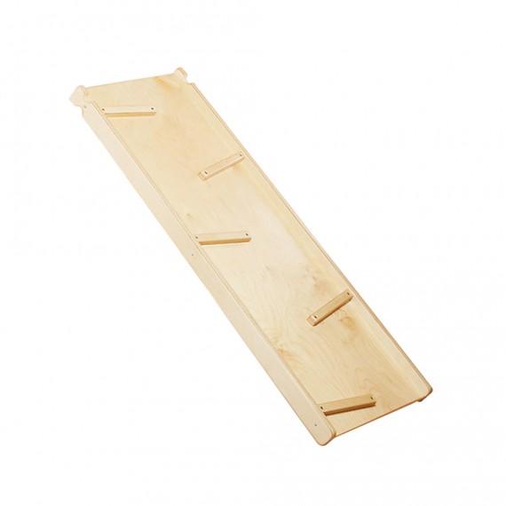 Scivolo bifacciale in legno