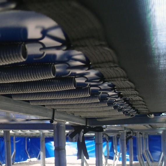 Pezzi di ricambio vari per tappeti elastici modulari
