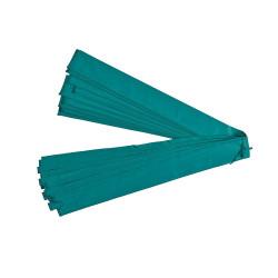 Rivestimento verde Ø25 mm per rete con fascette superiori