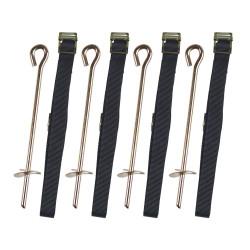 Kit di ancoraggio per tappeto elastico