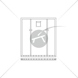 Trampolino per catamarano SL 15.5 (1 pezzo)