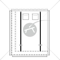 Trampolino per catamarano Pindle 19 (1 pezzo)