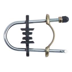 12 staffe di fissaggio per rete Ø38/38 mm