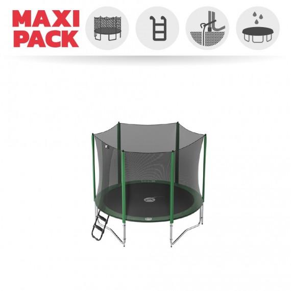 Maxi pack tappeto elastico Access 250 + rete + scaletta + kit d'ancoraggio + telo