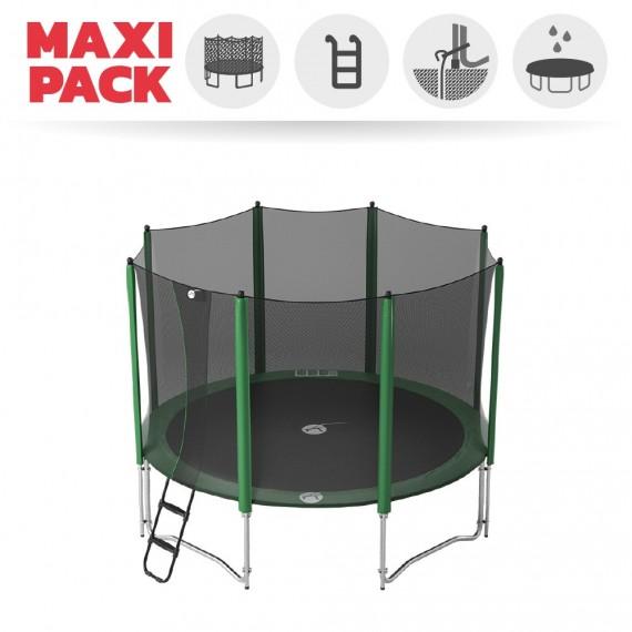 Maxi pack tappeto elastico Access 360 + rete + scaletta + kit d'ancoraggio + telo