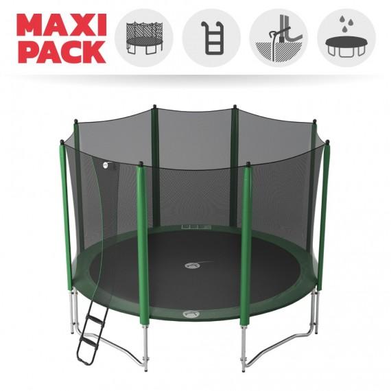 Maxi pack tappeto elastico Access 430 + rete + scaletta + kit d'ancoraggio + telo