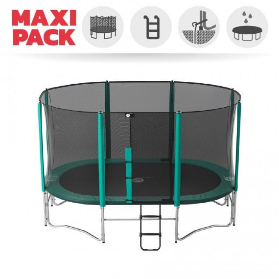 Maxi Pack Ovalì 430 + rete + scaletta + kit d'ancoraggio + telo