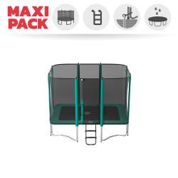Maxi Pack Tappeto elastico Apollo Sport 300 + rete + scaletta + kit d'ancoraggio + telo