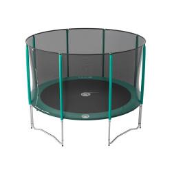 Tappeto elastico Jump'Up 360 con rete di protezione