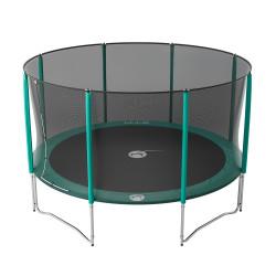 Tappeto elastico Jump'Up 430 con rete di protezione
