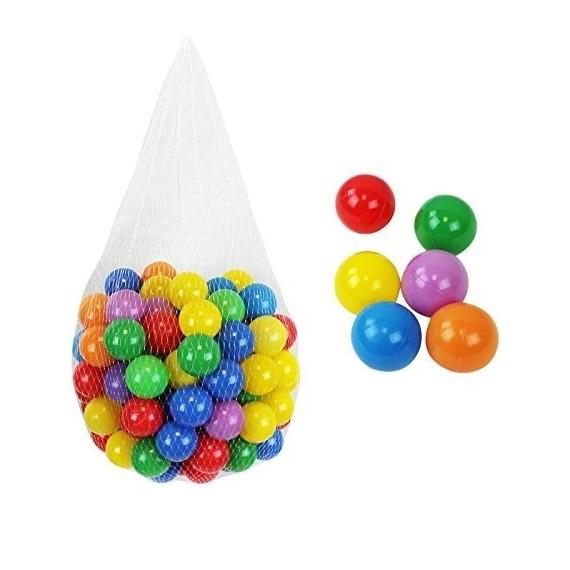 Palline in plastica colorate