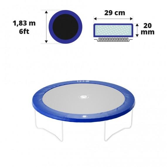 Cuscino di protezione blu Ø183