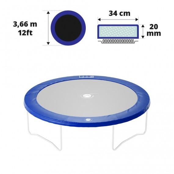 Cuscino di protezione blu 360 - 20 mm / 34 cm