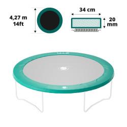 Cuscino di protezione 430 verde 20 mm / 36 cm