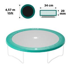 Cuscino di protezione 460 verde 20 mm / 36 cm