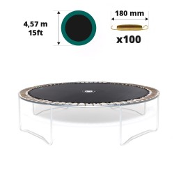 Telo da salto tappeto elastico 460 - 100 molle 180 mm
