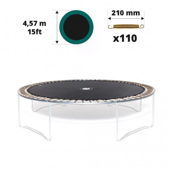 Telo salto tappeto elastico Ø 457 - 110 molle 210 mm