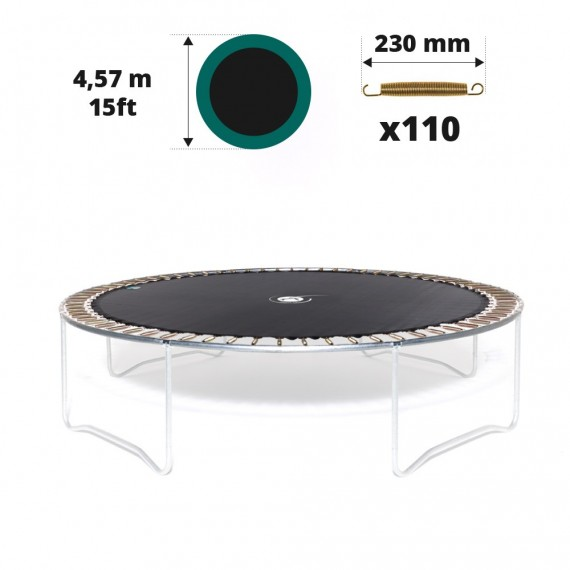 Telo salto tappeto elastico Ø 457 - 110 molle 230 mm