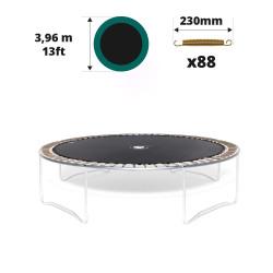 Telo da salto tappeto elastico 390 - 88 molle 230 mm