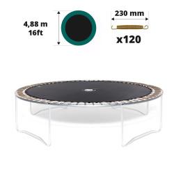 Telo da salto tappeto elastico 490 - 120 molle 230 mm