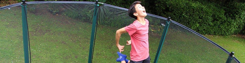 Tappeti elastici da giardino a partire da 199,90€
