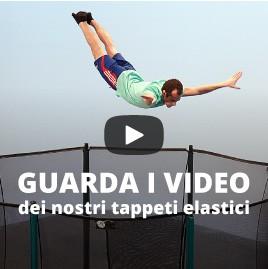 Scoprite i tappeti elastici Salt'in Italy grazie a