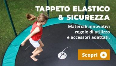 Tappeto elastico & sicurezza