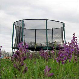 Tappeto elastico da giardino con rete