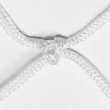 Zoom su maglia rete a nodi