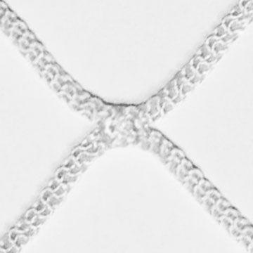 Zoom su maglia rete intrecciata