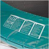 Verifica del cuscino di protezione del trampolino elastico
