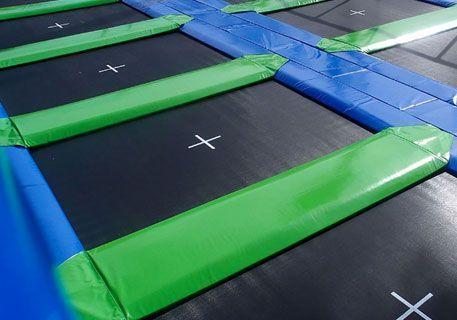 Tappeti elastici modulari