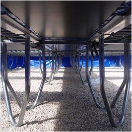 Struttura tappeti elastici professionali Aerò